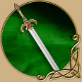 LARP Long Sword - Sileldar magic elven sword